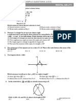 UCO Sample Paper Class 10