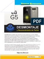 Desarme Celular LG G5