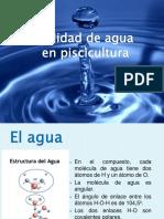 Calidad de Aguas Piscicultura