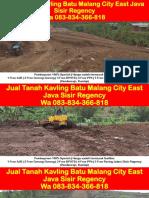 WA 083834366818,Jual Tanah Kavling Batu Malang City East Java Sisir Regency