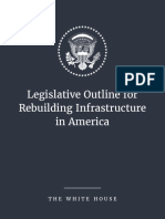White House infrastructure plan