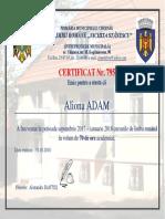 Certificat Model Nou.1