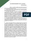 Rubinstein a. Desencadenamiento Neurosis