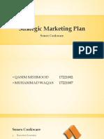 Strategic Marketing Plan. Sonex Cookware