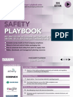 Foodsafety Playbook