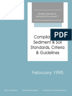Compilation of Soil and Sediment Standards Criteria and Guidelines. February 1995