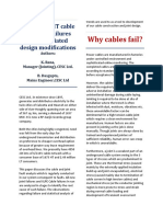 Analysis of Ht Cables and Joint Failures