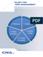 Methodology for Privacy Risk Management - How to Implement the Data Protection Act (CNIL 2012)