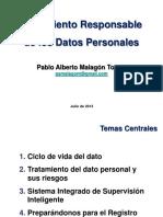 2013-07-11 Tratamiento Reponsable de Los Datos Personales