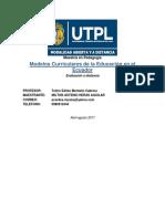 Msct.modelos Curriculares.maestria.pedagogia.m h A