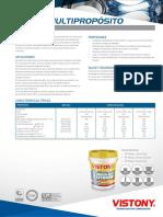 MSDSD - Grasa Lithium Ep Multiproposito
