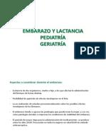 Embarazo Lactancia Geriatria Pediatria