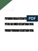PMKS Dan PSKS Beserta Program Dan Landasan Hukum
