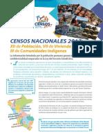 Historia Censos Nacionales Peru