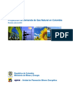 Analisis Demanda de Ga en Colombia