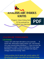 Sesi 6. Analisis ABC Indeks Kritis