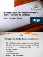 REVISAO DE CONTEUDO SERVIÇO SOCIAL CONTEXTO URBANO AULA 9 Slide 1.pdf