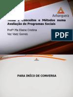 VA Monitoramento e Avaliacao Em Servico Social Aula 2 Tema 2