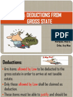 Chapter 4 - Deductions From Gross Estate