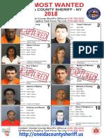 Oneida County Ten Most Wanted