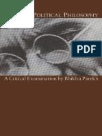 Gandhi's Political Philosophy (1989), Bhikhu C. Parekh