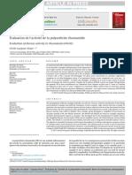Evaluation   de   l'activité   de   la   polyarthrite   rhumatoïde