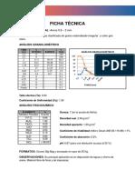 Ficha Técnica Arena 1 2