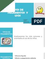 Tipos de Pegamentos y Sus Usos- Abigail Astorga
