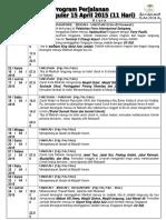 3- Program Paket a & B Umroh Reguler 15 Apr 2015 by SV (11 Hari via SIN)