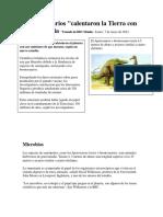 Flatulencias de Los Dinosaurios