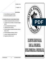 Breve Historia de La Iglesia Evangelica Peruana