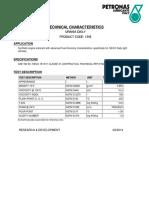 Hoja Tecnica Urania Daily 5w-30