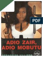 128. Gerard de Villiers - [SAS] - Adio Zair, adio Mobutu [v.1.0].pdf