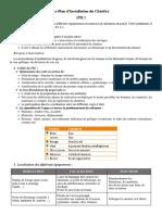 Le Plan d'Installation Du Chantier