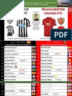 Premier League 180211 round 27 Newcastle - Manchester United 1-0