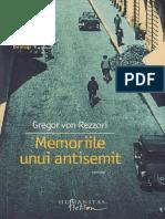 Gregor Rezzori - Memoriile Unui Antisemit