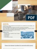 Agua Para Mezcla y Concreto