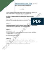 Examen Matematicas Grado Medio Madrid Junio 2013 Enunciado