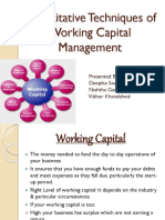 132089394-Quantitative-Techniques-of-Working-Capital-Management.pptx
