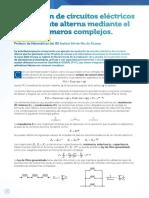 CASIO NEWS VI - Ejercicio - Resolución de Circuitos Eléctricos de Corriente Alterna Mediante El Uso de Números Complejos