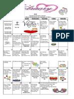 Belair Feb 2018 Recreation Calendar