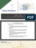 Texas Housers Lubbock neighborhood inequality presentation