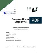 Conceptos Finanzas Corporativas