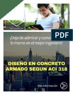 Curso Online Nivelacion y Actualizacion Diseño en Concreto 2018