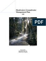Sanctuary Forest Groundwater Management Plan