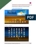 Parametrage Galaxy Tab VF
