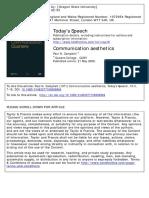 Paul Campbell - Communication Aesthetics