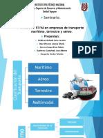 Exposición Transporte Maritimo