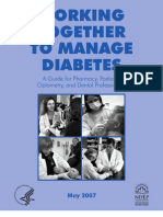 Woring Together to Manage Diabetes