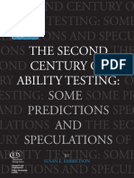 Embretson, S. (2003). the Second Century of Ability Testing Resaltado